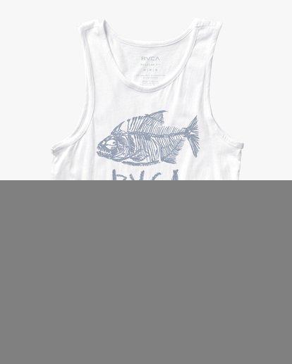 0 Ben Horton | Dead See Tank Top White AVYZT00503 RVCA