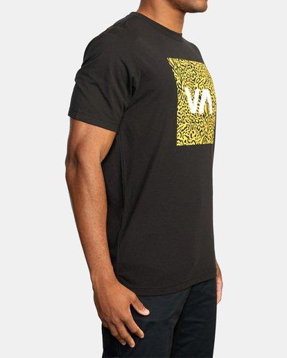 5 VA Box Fill Short Sleeve Tee Black AVYZT00518 RVCA
