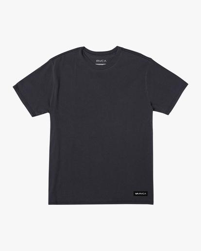 0 Balance Highlight Short Sleeve Tee Black AVYZT00519 RVCA