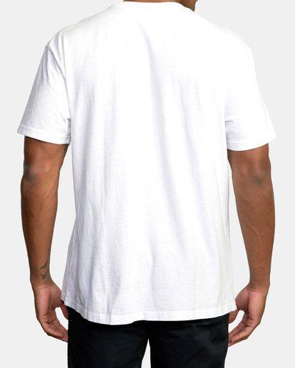 1 Boxing Alma Mater Short Sleeve Tee White AVYZT00520 RVCA