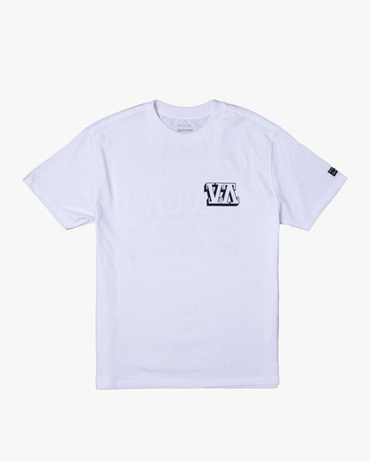 0 Defer | Big Block Short Sleeve Tee White AVYZT00522 RVCA