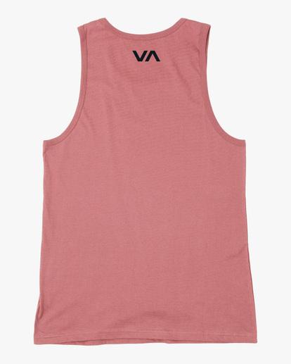 1 VA Sport | Icon Tank Top White AVYZT00524 RVCA