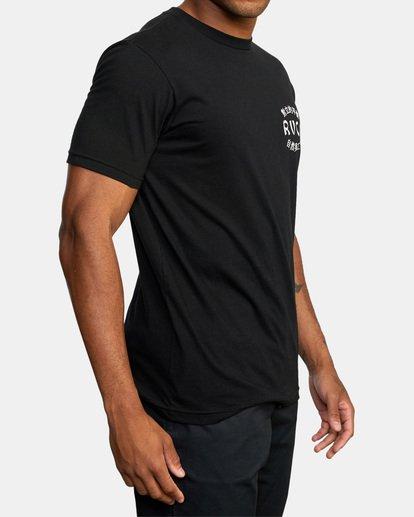 5 Mixed Arts Short Sleeve Tee Black AVYZT00527 RVCA