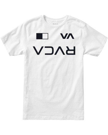 0 Billboard Workout Shirt White AVYZT00530 RVCA