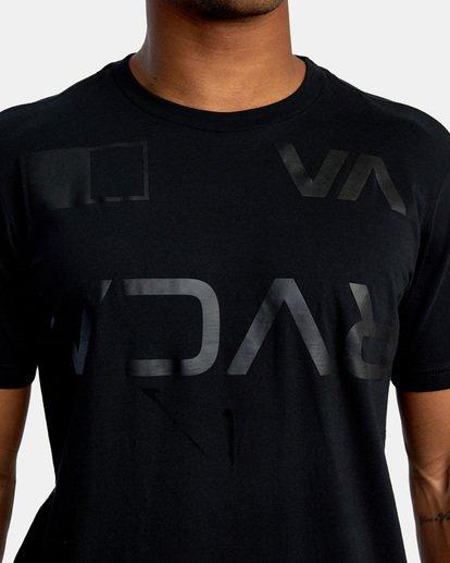 3 Billboard Workout Shirt Black AVYZT00530 RVCA