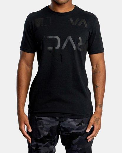 1 Billboard Workout Shirt Black AVYZT00530 RVCA