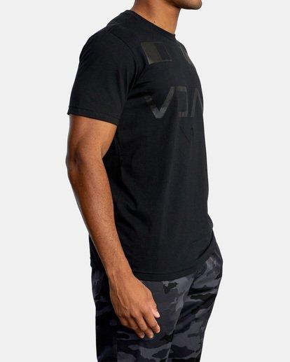 5 Billboard Workout Shirt Black AVYZT00530 RVCA