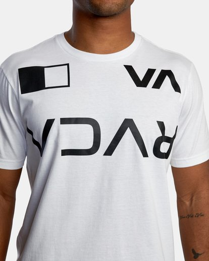 4 Billboard Workout Shirt White AVYZT00530 RVCA