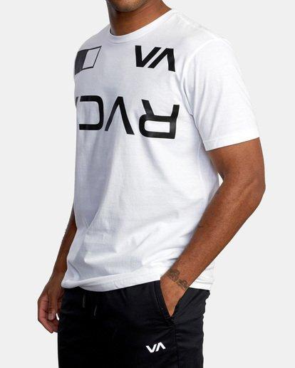 5 Billboard Workout Shirt White AVYZT00530 RVCA