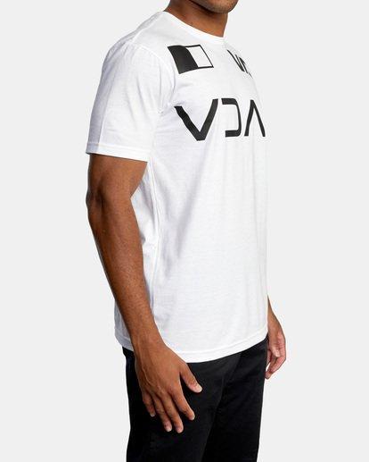 6 Billboard Workout Shirt White AVYZT00530 RVCA