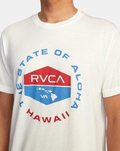5 HAWAII FOCUSED SS White AVYZT00535 RVCA