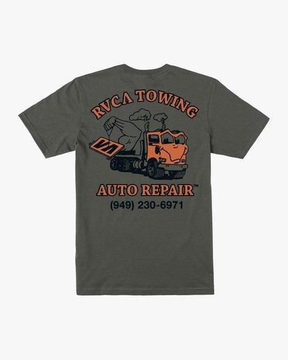 1 Auto Repair Short Sleeve Tee Green AVYZT00550 RVCA