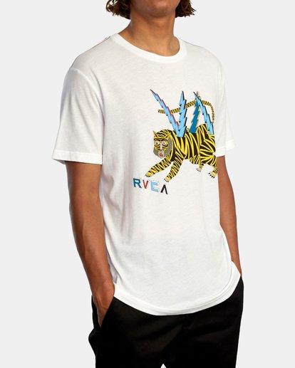 6 LEINES TIGER  SS White AVYZT00556 RVCA