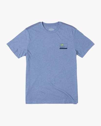0 Highland Short Sleeve Tee Blue AVYZT00558 RVCA