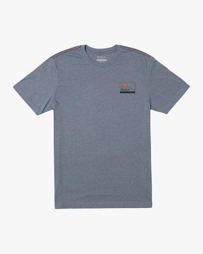 0 Highland Short Sleeve Tee Grey AVYZT00558 RVCA