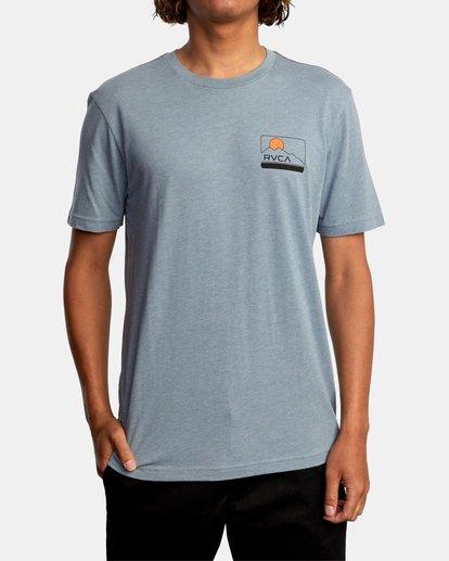 2 Highland Short Sleeve Tee Grey AVYZT00558 RVCA