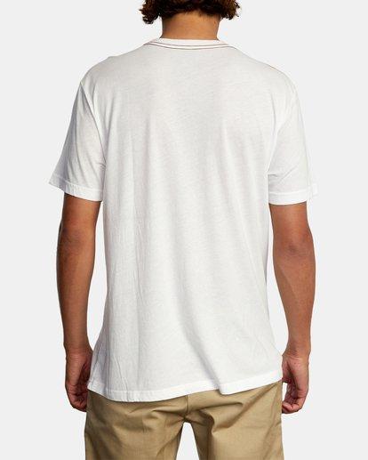 3 RVCA Devils Short Sleeve Tee White AVYZT00560 RVCA