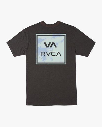 1 VA All The Way Short Sleeve Tee Black AVYZT00566 RVCA