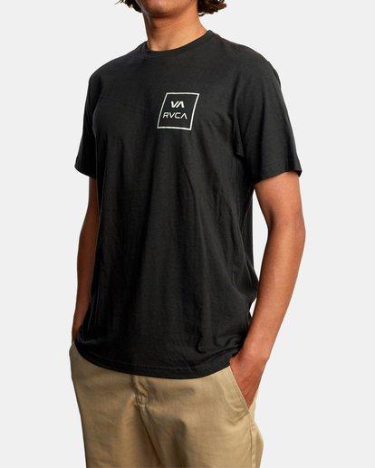 5 VA All The Way Short Sleeve Tee Black AVYZT00566 RVCA