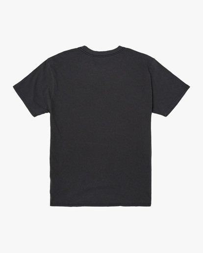 1 Lauderdale Short Sleeve Tee Black AVYZT00581 RVCA
