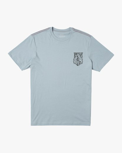 0 Alex Matus | Ranger Short Sleeve Tee Blue AVYZT00586 RVCA