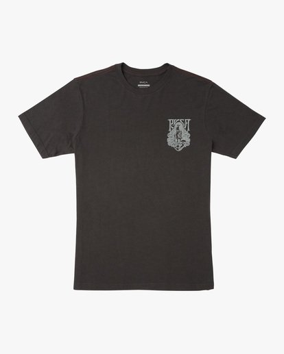 0 Alex Matus | Ranger Short Sleeve Tee Black AVYZT00586 RVCA