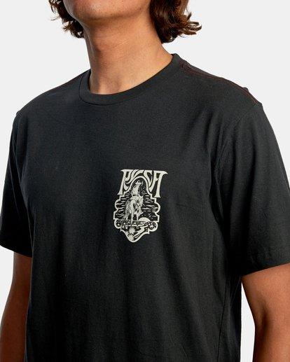 4 Alex Matus | Ranger Short Sleeve Tee Black AVYZT00586 RVCA