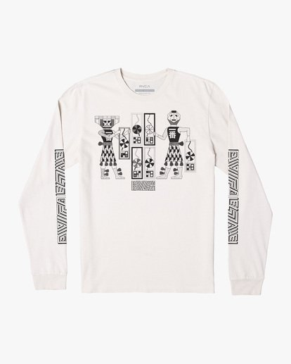 0 LEINES TRIBE LS Silver AVYZT00590 RVCA