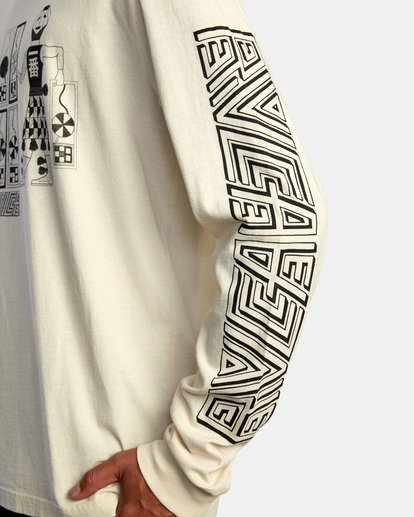 7 LEINES TRIBE LS Silver AVYZT00590 RVCA