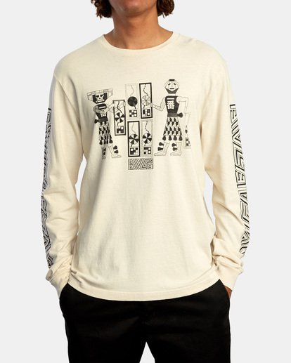 2 LEINES TRIBE LS Silver AVYZT00590 RVCA