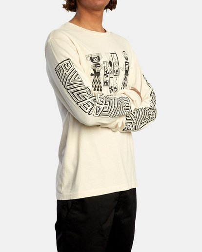 5 LEINES TRIBE LS Silver AVYZT00590 RVCA