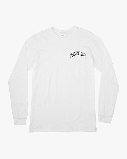 0 Kevin Ancell | St. Margret Long Sleeve Tee White AVYZT00596 RVCA