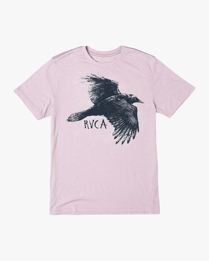 0 Ben Horton | Raven Short Sleeve Tee Grey AVYZT00625 RVCA