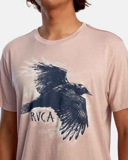 4 Ben Horton | Raven Short Sleeve Tee Grey AVYZT00625 RVCA