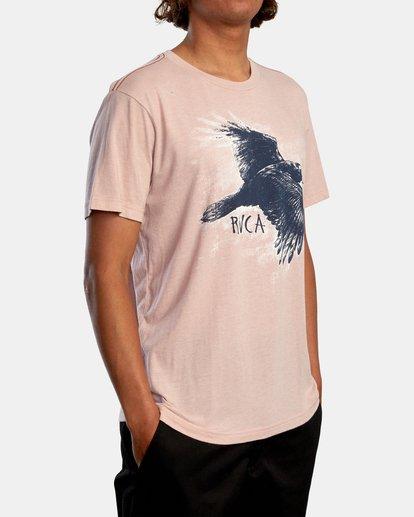 6 Ben Horton | Raven Short Sleeve Tee Grey AVYZT00625 RVCA