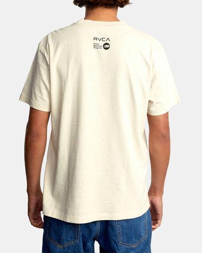 3 Matt Leines   Facet Face Short Sleeve Tee Silver AVYZT00649 RVCA