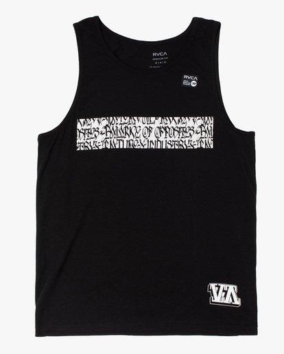 0 Defer | Bar Tank Top Black AVYZT00652 RVCA