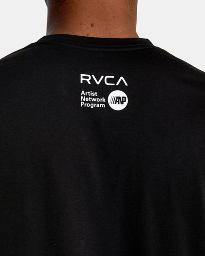 7 Matt Leines | VA Sport Leines Banner Workout Shirt Black AVYZT00670 RVCA
