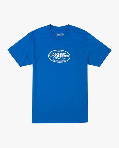 0 Gary Turner T-Shirt Blue AVYZT00692 RVCA