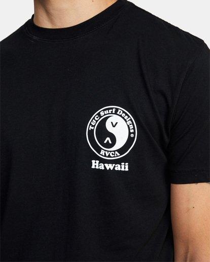 4 RVCA T&C Short Sleeve T-Shirt  AVYZT00698 RVCA