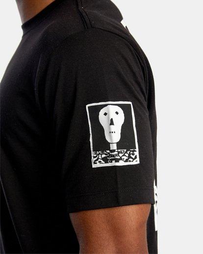 8 Matt Leines   VA Sport Faces Workout Shirt Black AVYZT00716 RVCA