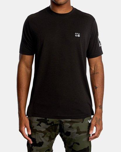 2 Matt Leines   VA Sport Faces Workout Shirt Black AVYZT00716 RVCA