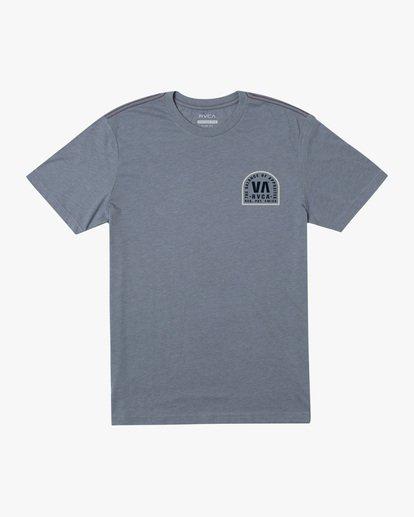 0 Tomb Seal Short Sleeve Tee Grey AVYZT00746 RVCA