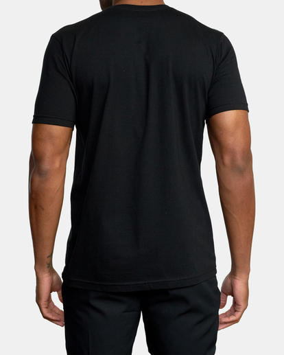 2 Gym Lay Workout Shirt Black AVYZT00834 RVCA