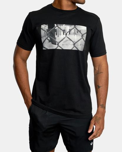 1 Gym Lay Workout Shirt Black AVYZT00834 RVCA