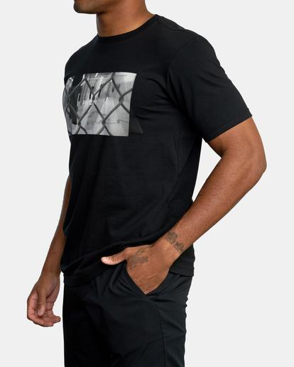 4 Gym Lay Workout Shirt Black AVYZT00834 RVCA