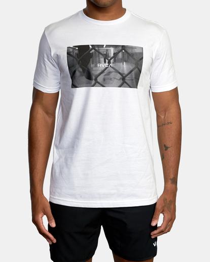1 Gym Lay Workout Shirt White AVYZT00834 RVCA