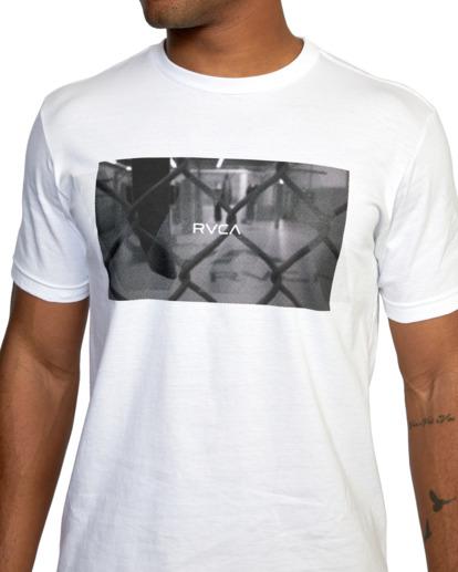 6 Gym Lay Workout Shirt White AVYZT00834 RVCA