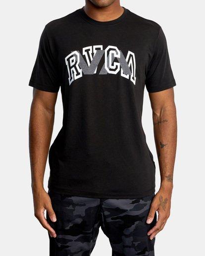 0 VA Sport | Double Major Workout Shirt Black AVYZT00842 RVCA