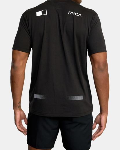 3 VA Sport | Pix Bar Workout Shirt Black AVYZT00843 RVCA
